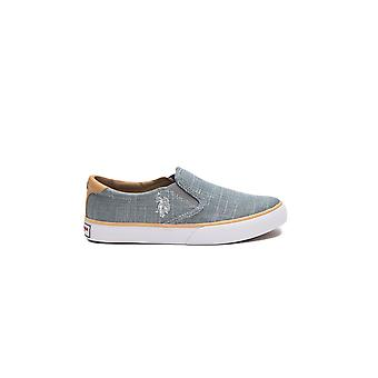Sneakers Green Nova Us Polo Woman