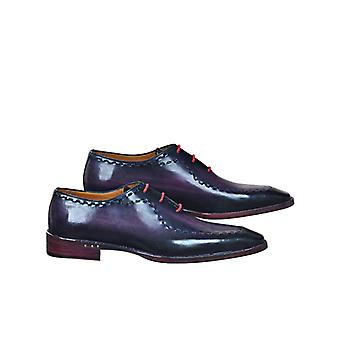 Handcrafted Premium Leather Barem P Oxford Shoe