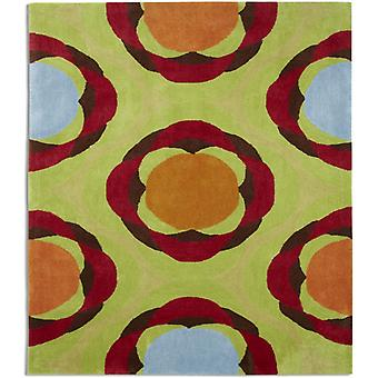 Rugs -Relax Green Circle - REL01