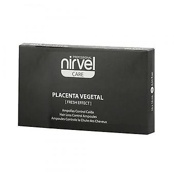 Nirvel Blisters of Control Drop of Vegetable Placenta 10 x 10 ml (Hair care , Treatments)
