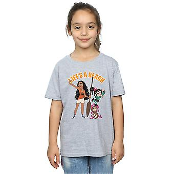 Disney Girls Wreck It Ralph Moana And Vanellope T-Shirt