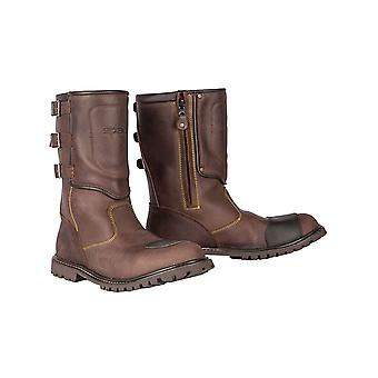 Spada Brown Foundry Motorcycle Boots