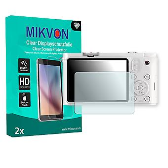 Samsung NX1100 Screen Protector - Mikvon Clear (Retail Package with accessories)