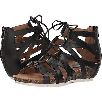 Josef Seibel Womens Hailey Leather Open Toe Casual Strappy Sandals