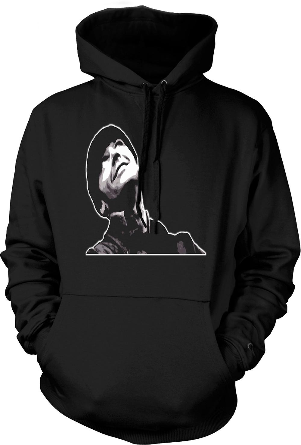 Mens Hoodie - One Flew Over Cuckoo's Nest - Jack Nicholson
