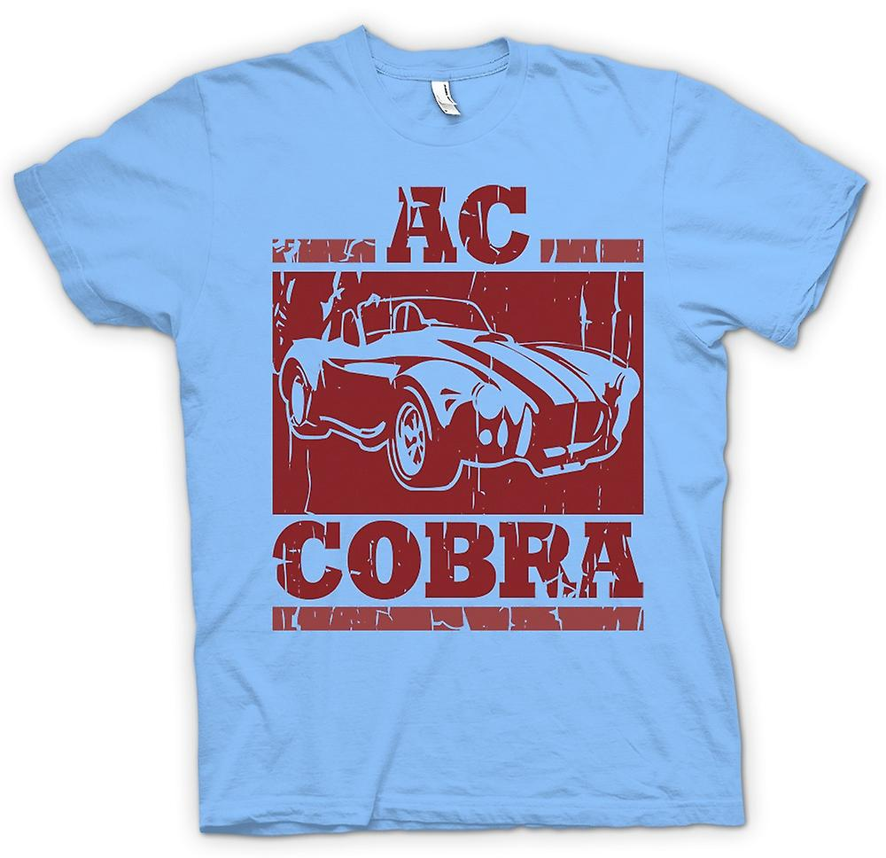 Mens T-shirt - AC Cobra Super Car