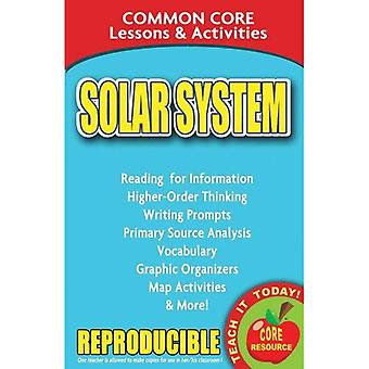 Solar Systems: Common Core Lessons & Activities