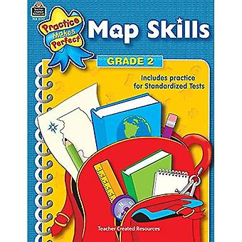 Map Skills: Grade 2 (Practice Makes Perfect Series)