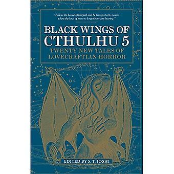 Alas negras de Cthulhu (volumen 5) (libro en rústica)