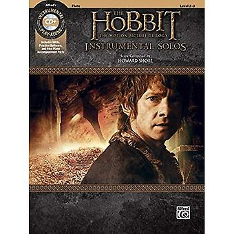 The Hobbit -- The Motion Picture Trilogy Instrumental� Solos: Flute, Book & CD (Pop Instrumental Solo)