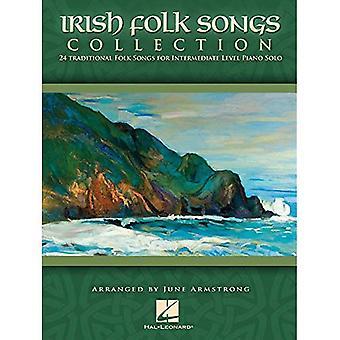 Irische Volkslieder-Sammlung: 24 traditionelle Volkslieder für Intermediate Level Klavier Solo
