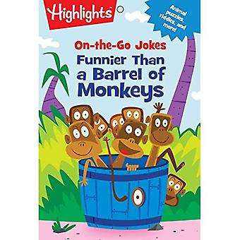 On-the-Go Jokes: Funnier Than a Barrel of Monkeys (Highlights (TM) Joke and Puzzle Pads)