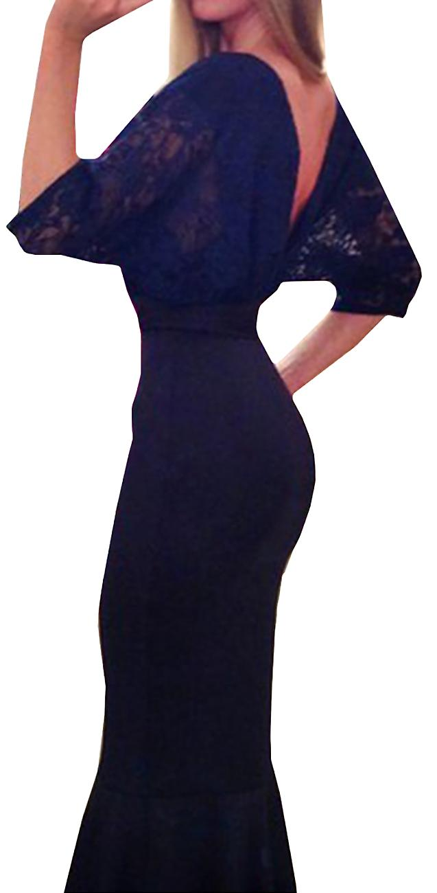 Waooh - Evening dress with train Vela