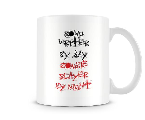 Song Writer By Day Zombie Slayer Night Mug