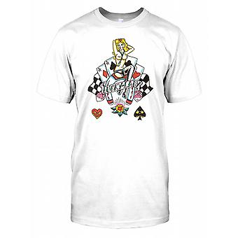 Lucky Lady Topless Mens T Shirt