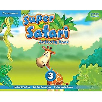 Super Safari Level 3 Activity Book (Super Minds)