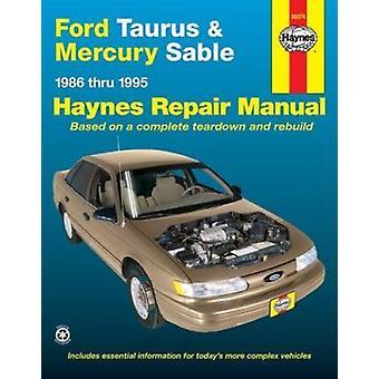Ford Taurus & Mercury Sable (86-95) Automotive Repair Manual (6th Rev