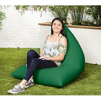 Green Water resistent Outdoor gefüllte Bean Bag Lounger