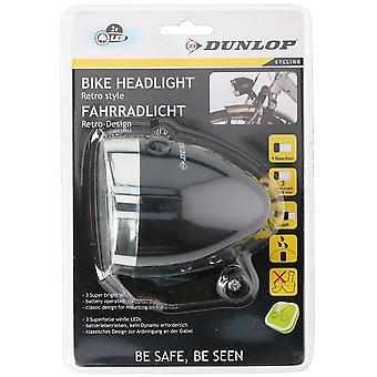 Voor licht LED ABS Dunlop retro zwart stijlvol en sterk