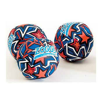 Zoggs Swim Splash Balls - Orange/Blue Star Print