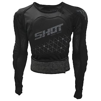 Shot Black Grey 2019 Airlight Evo Enduro Kids MX Protection Jacket
