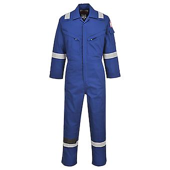 Portwest flame resistant light weight anti-static coverall 280g fr28