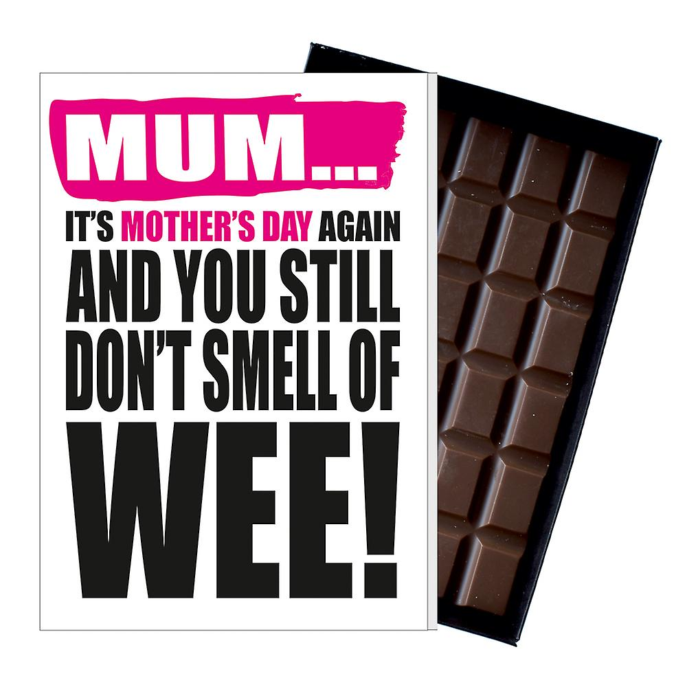 Drôle mother-apos;s Day Gift Boxed Chocolate Present Rude Greeting Card For Mom Mumy MIYF109
