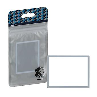 Replacement screen lens plastic cover for nintendo ds lite [ndsl] - white
