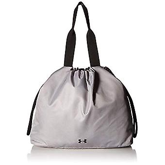 Under Armour UA Cinch Printed Tote - Borsone Donna - Grigio (MOD Gray Black) - Taglia Unica