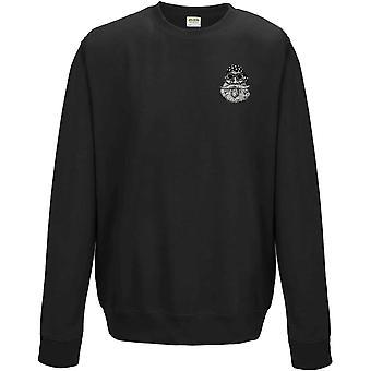 Old Biker Hog Embrodiered Logo - Sweatshirt