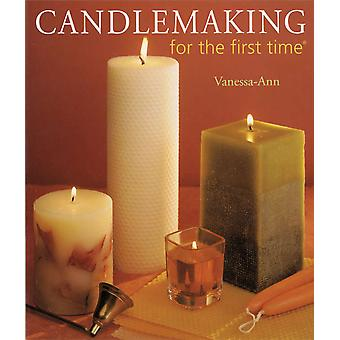 Sterling Publishing Candlemaking For The First Time Stp 71352