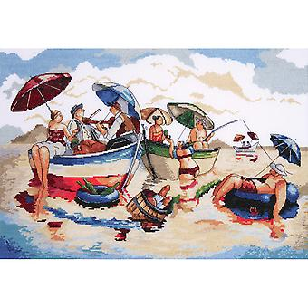 Water Lunch Counted Cross Stitch Kit 14
