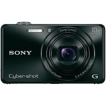 Digital camera Sony DSC-WX220B 18.2 MPix Optical zoom: 10 x Black Full HD Video, Wi-Fi