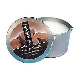 Gourmet massage candle chocolate