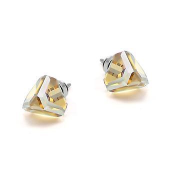Yellow stud earrings EMB 13.6