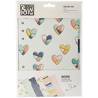 Posh Double-Sided Dividers A5 6/Pkg-Foil Accents PO4955