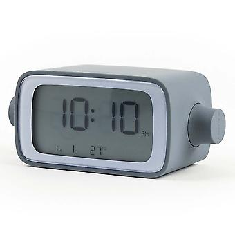 Lexon Dreamtime Grey Adjustable Volume Alarm Clock