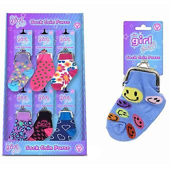 Its Girl Stuff Sock Coin Purse