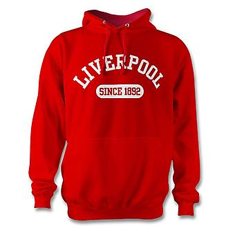 Bluza z kapturem Liverpool Football 1892 ustalone