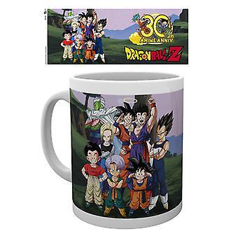 Dragon Ball Z 30 aniversario taza