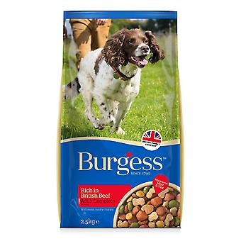 Burgess Adult Dog Beef 2.5kg
