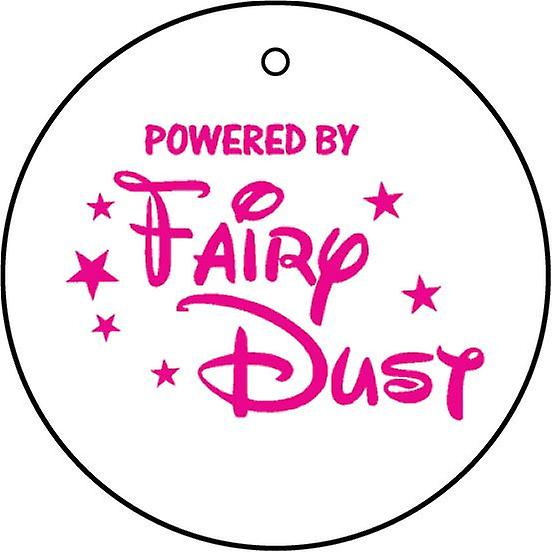 Powered By Fairy Dust Car Air Freshener