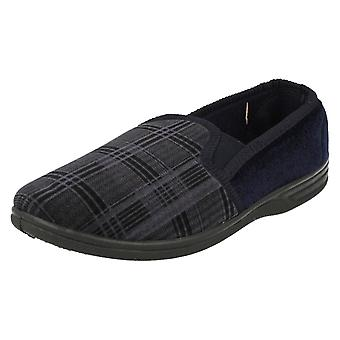 Mens Spot On Quality Slippers MS20