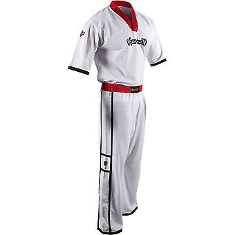 Hayabusa Winged Strike Karate Uniform - White - kimono taekwondo