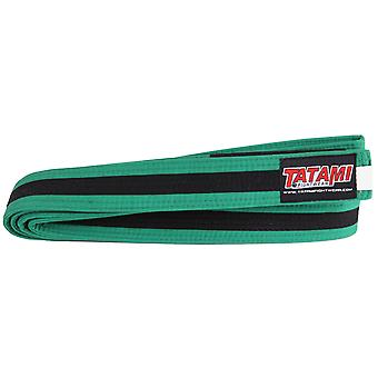 Tatami Fightwear Kinder BJJ Rang Green/Black Belt