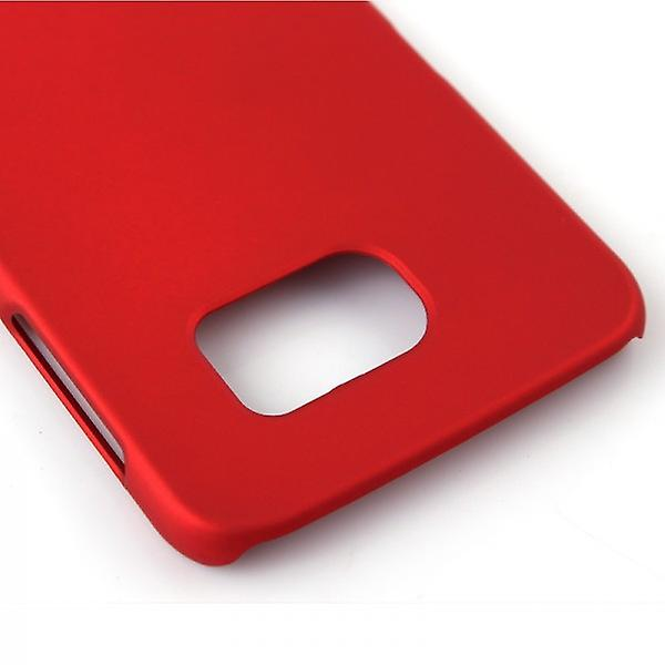 Hard case red rubber sleeve for Samsung Galaxy S6 G920 G920F