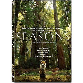 Seasons [DVD] USA importerer