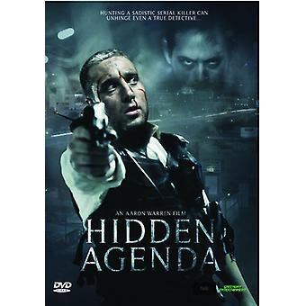 Hidden Agenda [DVD] USA import