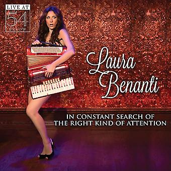 Laura Benanti - In Constant Search Right Kind of Attention: Live [CD] USA import