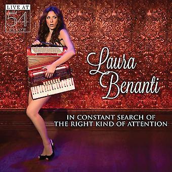 Laura Benanti - i konstante søgning ret slags opmærksomhed: Live [CD] USA import